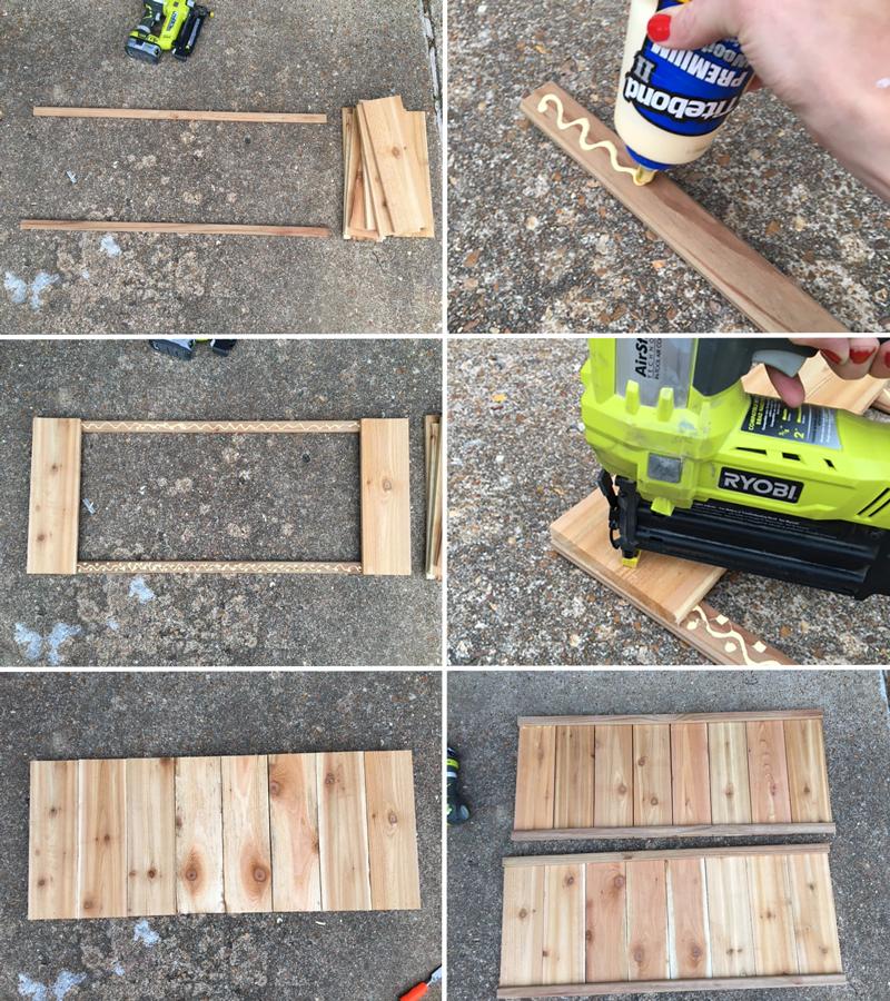 Cedar Planter Step 1