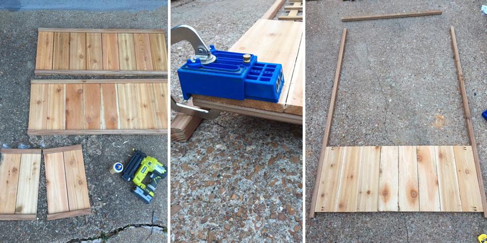 Cedar Planter Step 2