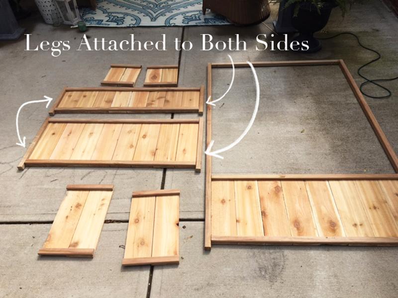 Cedar Planter Step 2 complete