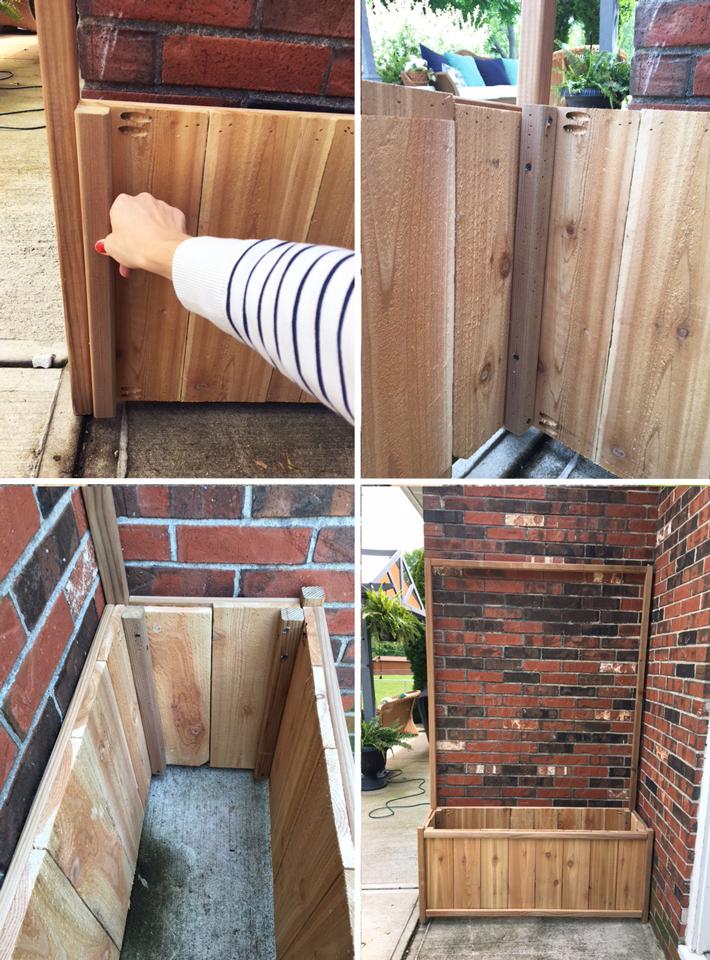 Cedar Planter Step 3