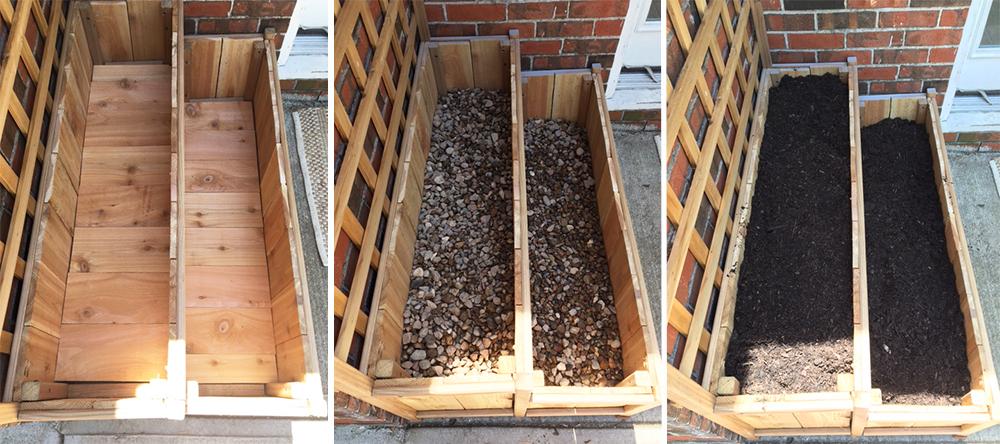 Cedar Planter Step 7