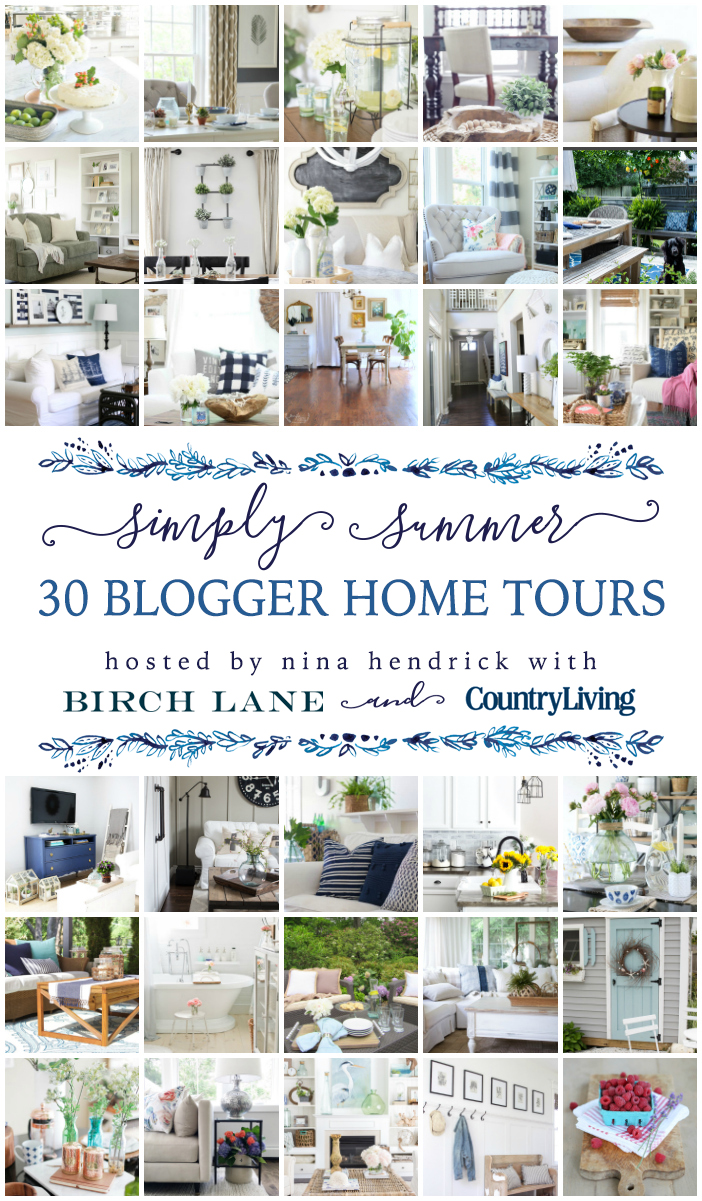 Summer Home Tour 2016 - Shades of Blue Interiors