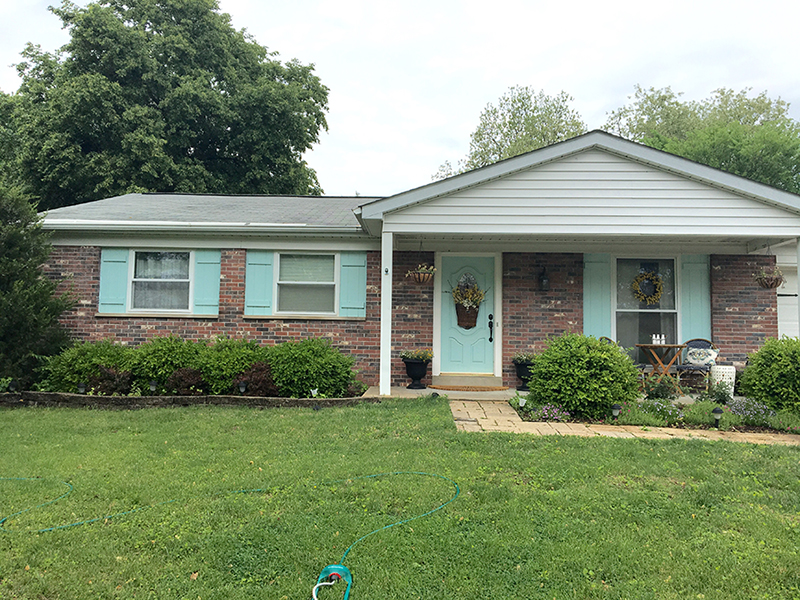 Home exterior makeover plans shades of blue interiors beforehouse sisterspd