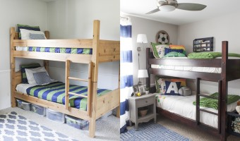 Boys' Room Makeover Reveal