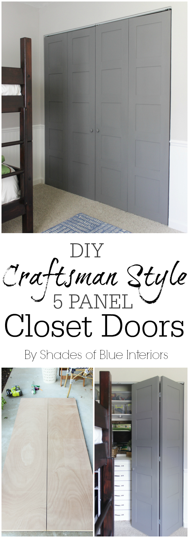 CraftsmanStyleClosetDoors