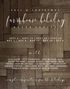 Farmhouse Holiday Decor Series
