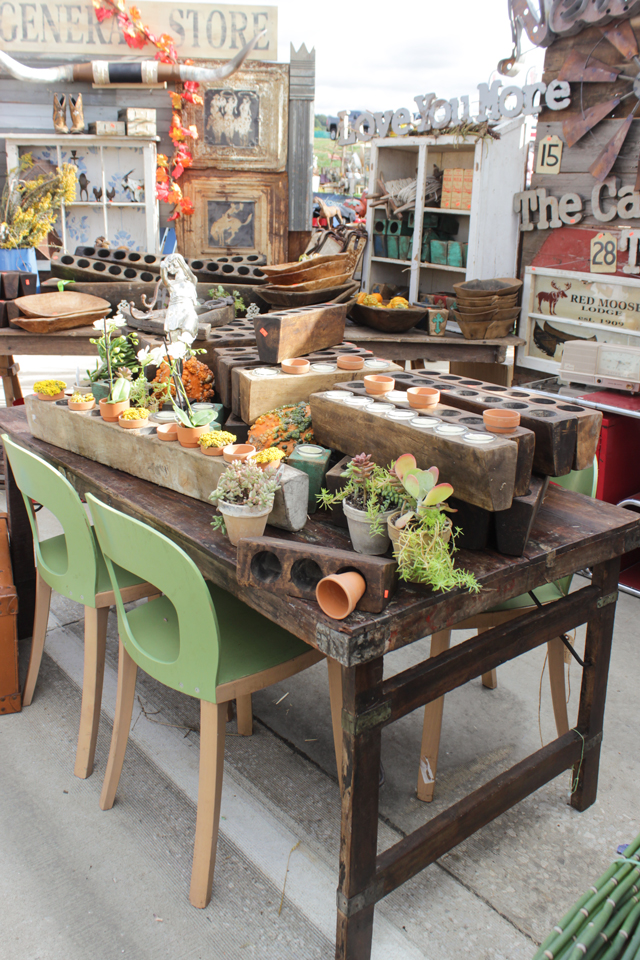 Fall 2016 Vintage Market Days - The First Day