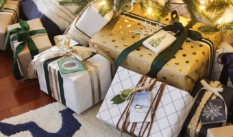 Gift Wrapping Ideas + Woodland Gift Tag Printables