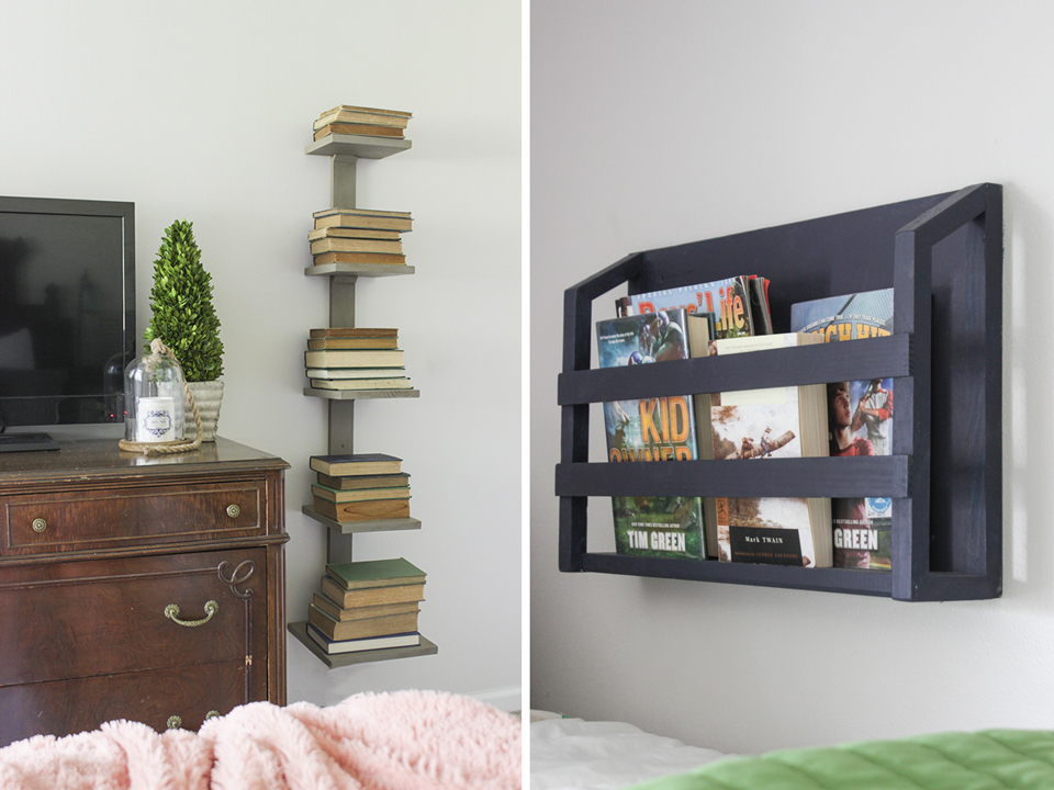 Wall-Mounted Bookshelf ideas