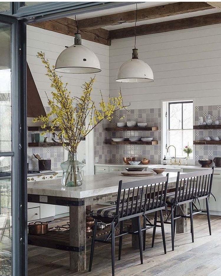 Hudson House Kitchen by Jennifer Bunsa