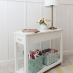 DIY Daybed Nightstand