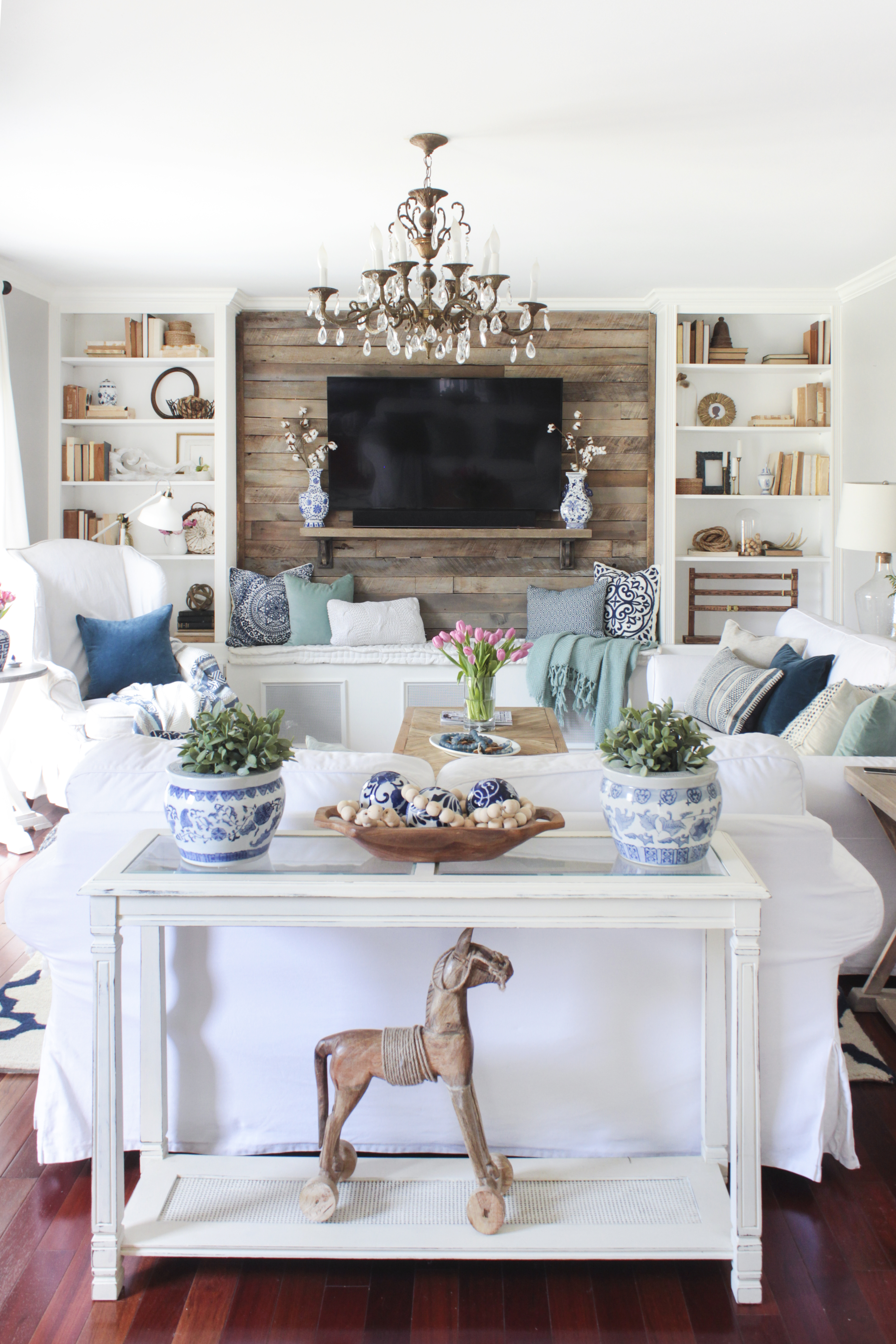 Hand Painted Furniture Accent Pieces