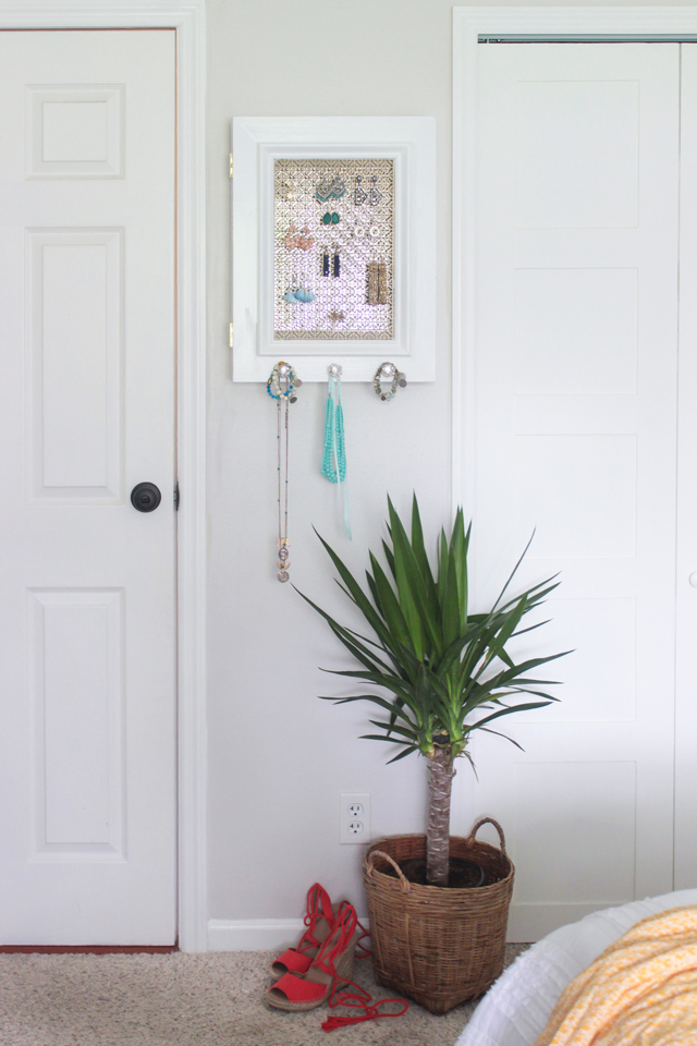 DIY Jewelry Holder with Secret Compartment Shades of Blue Interiors
