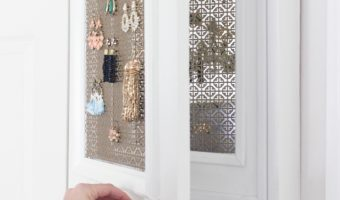 DIY Jewelry Holder with Secret Compartment