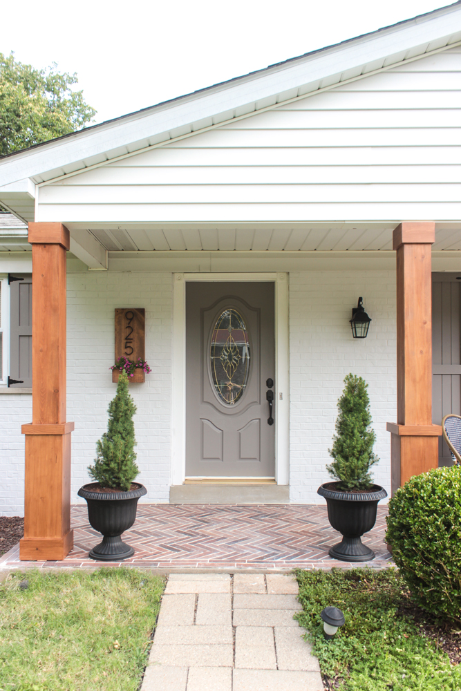 Behr Porch And Patio Paint Quart: Front Porch Makeover With BEHR® + $100 GIVEAWAY