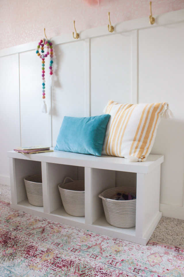 Small Storage Bench With Free Plans Shades Of Blue Interiors