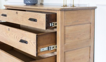 How to Install Drawer Slides on a Vintage Dresser