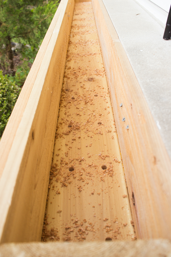Diy Cedar Window Planters Shades Of Blue Interiors