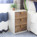 Modern 3 Drawer Nightstand