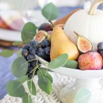 Fall Fruits Centerpiece and Tablescape