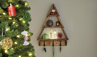 DIY Workshop Coming Soon: Holiday Tree Shelf