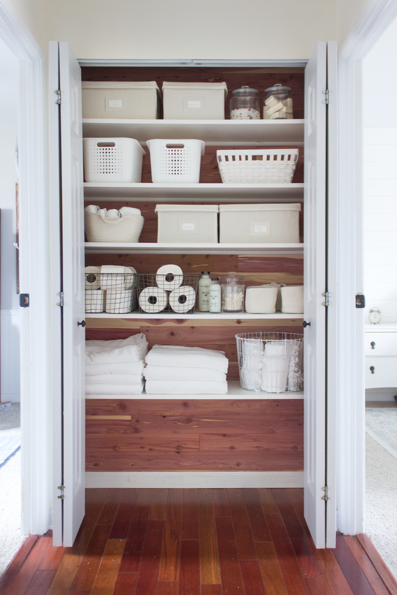 ... Interiors Linen Closet Ideas