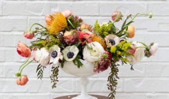 Creating a Gorgeous Modern Flower Arrangement