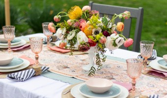 A Mother's Day Table
