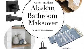 Alaskan Bathroom Makeover Design Plans
