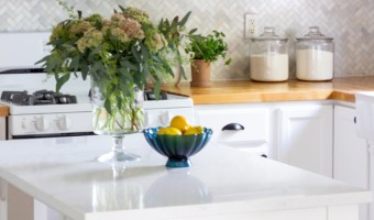 Affordable Kitchen Updates with Quartz and Paint