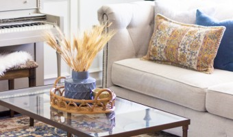Fall Decorating Ideas for a Living Room