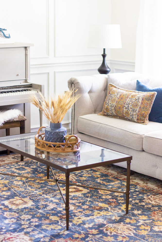 Fall Decorating Ideas For A Living Room Shades Of Blue Interiors