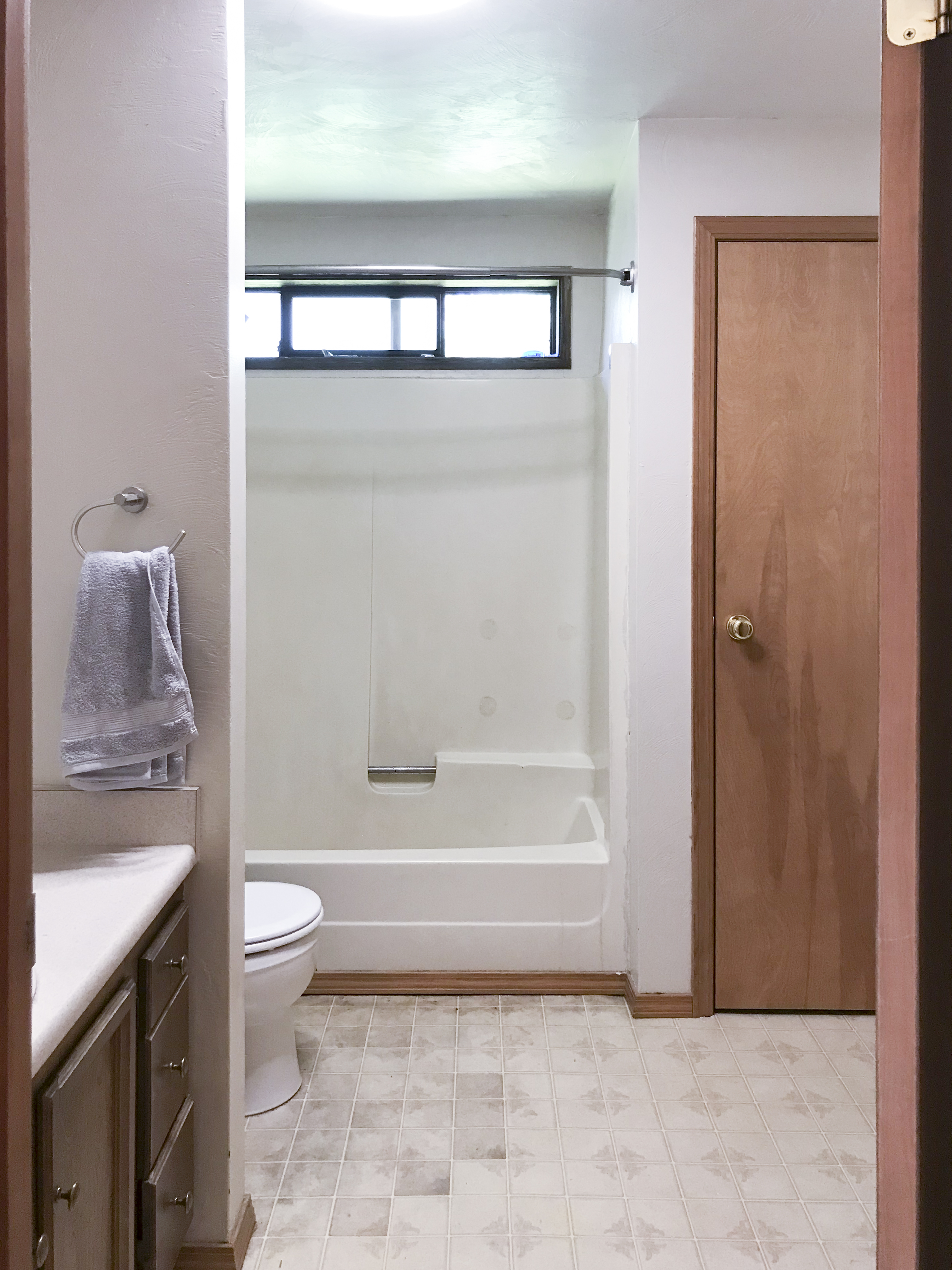 Alaskan Bathroom Makeover Reveal - Shades of Blue Interiors
