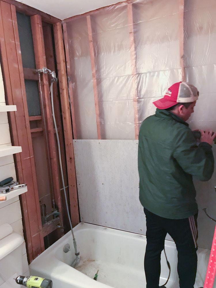 Master Bathroom Shower Update - Shades of Blue Interiors