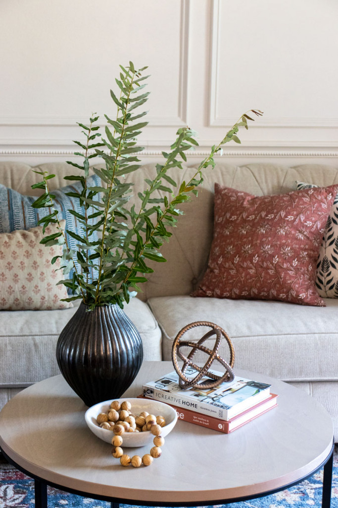 The Basics Of Coffee Table Styling, How To Decorate Small Round Coffee Table