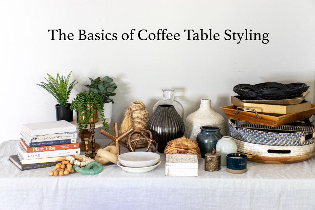 The Basics Of Coffee Table Styling Shades Of Blue Interiors